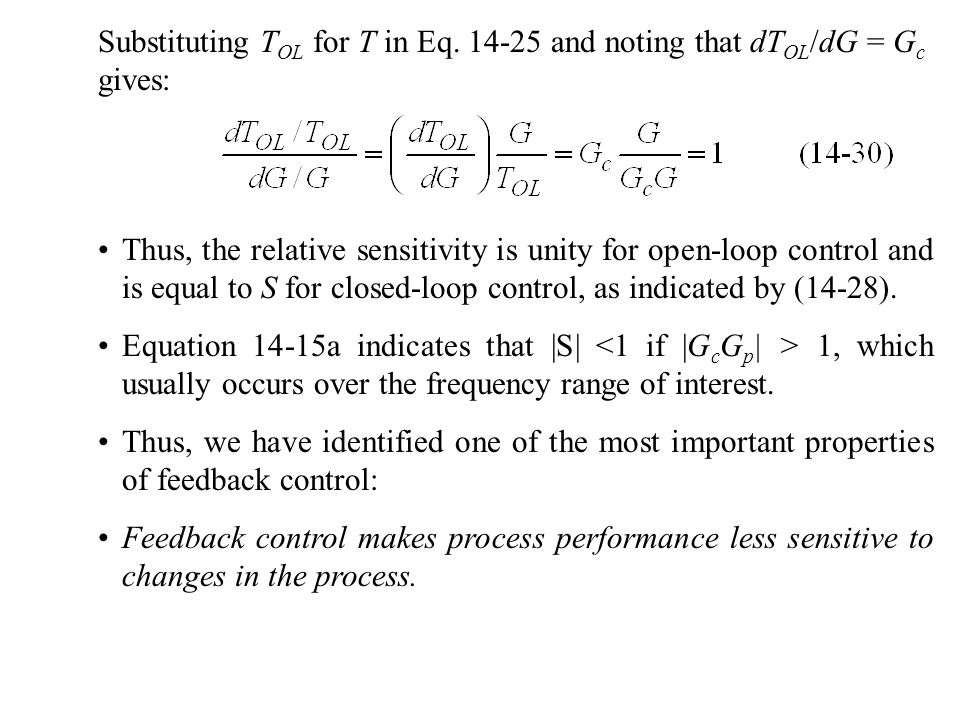 Substituting TOL for T in Eq. 14-25 and noting that dTOL/dG = Gc gives: