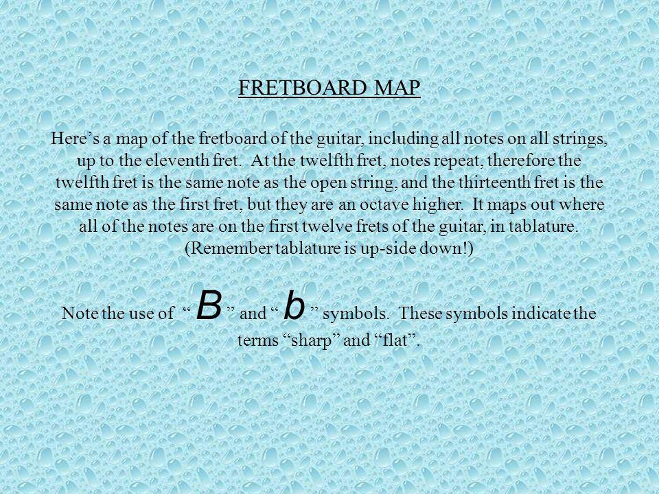 FRETBOARD MAP