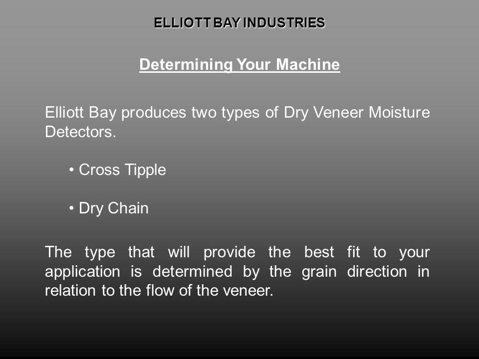 ELLIOTT BAY INDUSTRIES Determining Your Machine