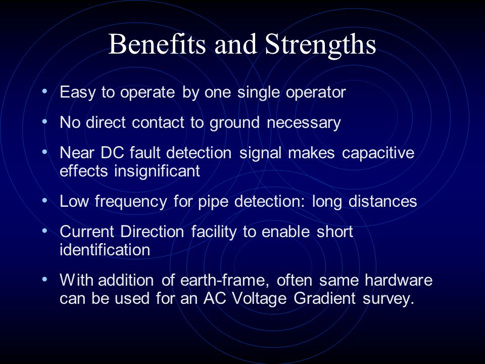 Benefits and Strengths