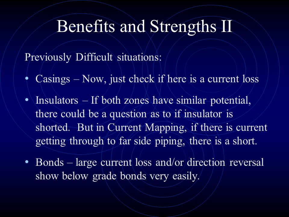 Benefits and Strengths II
