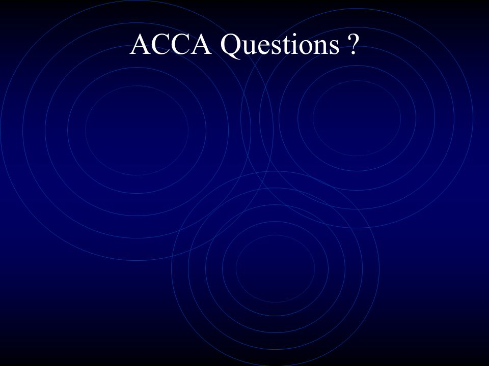 ACCA Questions