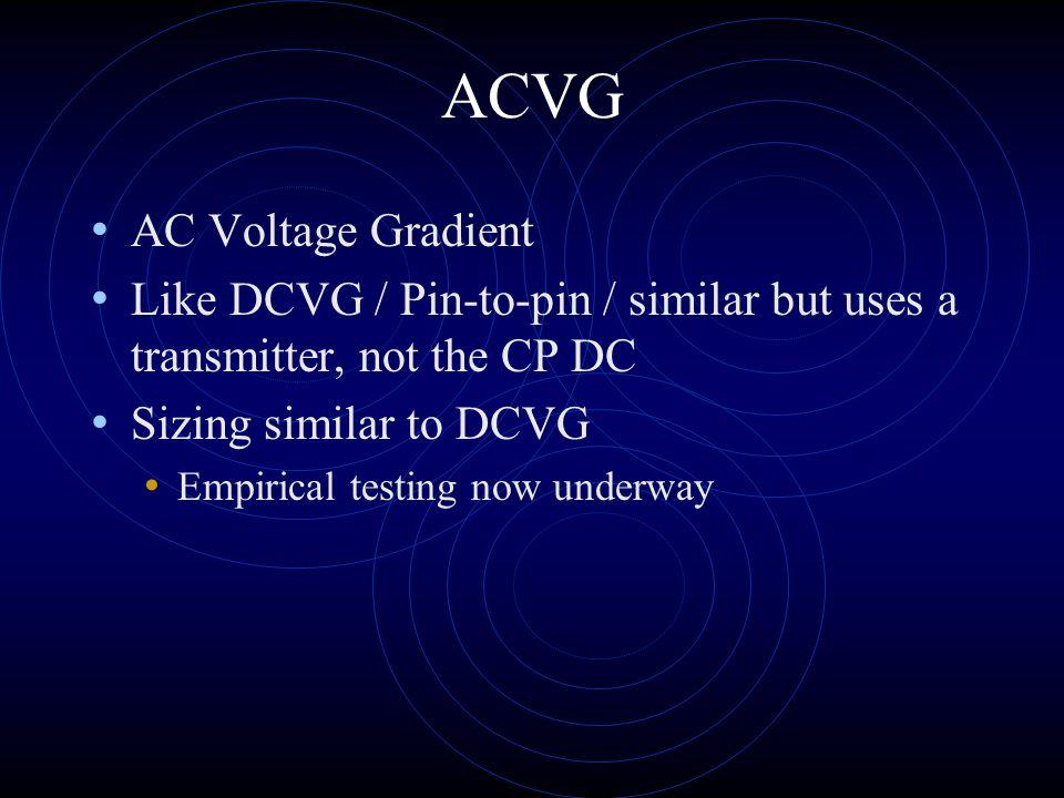 ACVG AC Voltage Gradient