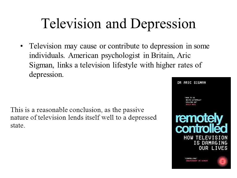 Television and Depression
