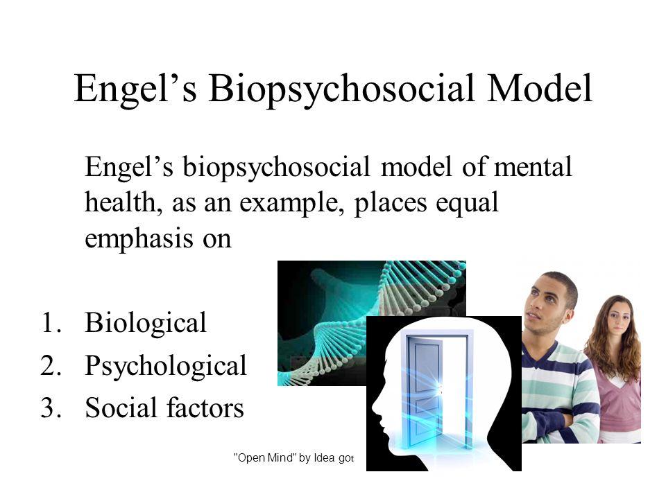 Engel's Biopsychosocial Model