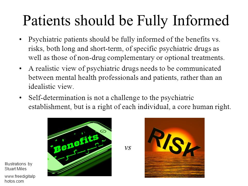 Patients should be Fully Informed