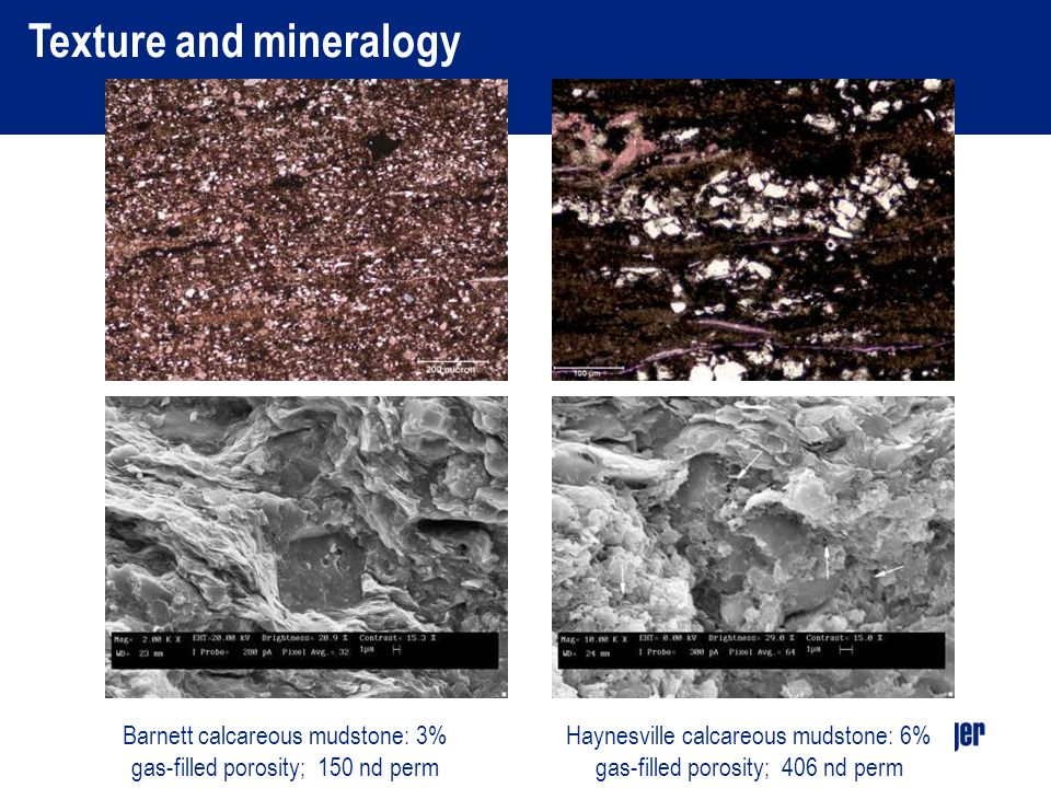 Texture and mineralogy