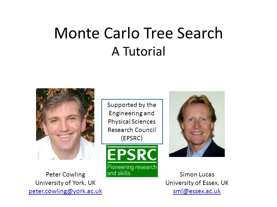 Monte Carlo Tree Search A Tutorial
