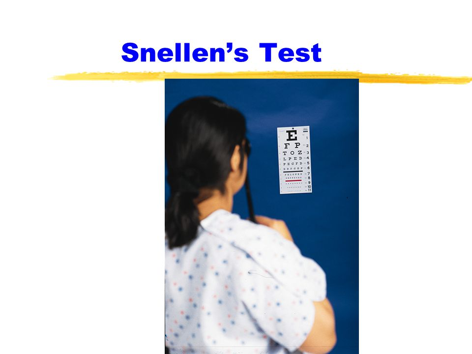 Snellen's Test