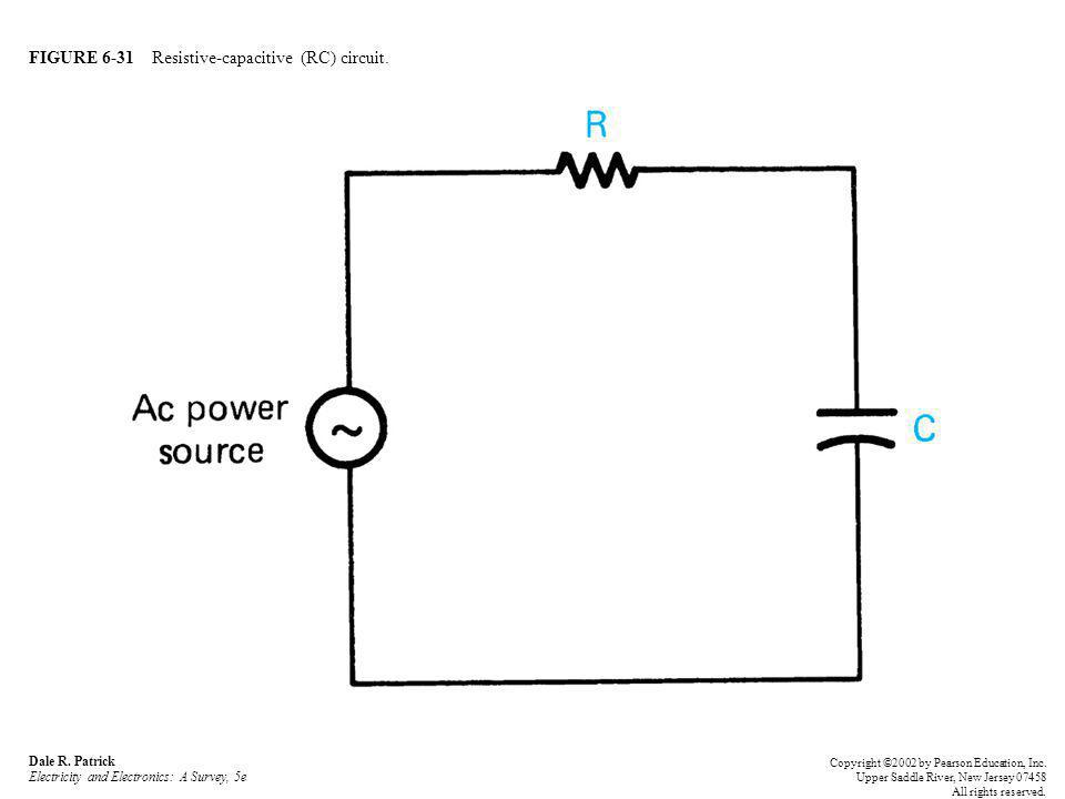 FIGURE 6-31 Resistive-capacitive (RC) circuit.