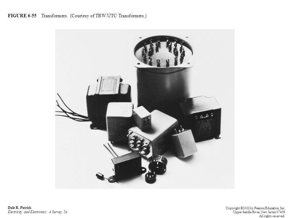 FIGURE 6-55 Transformers. (Courtesy of TRW/UTC Transformers.)