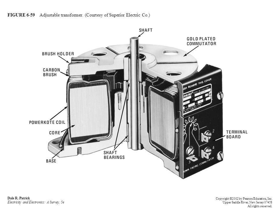 FIGURE 6-59 Adjustable transformer. (Courtesy of Superior Electric Co