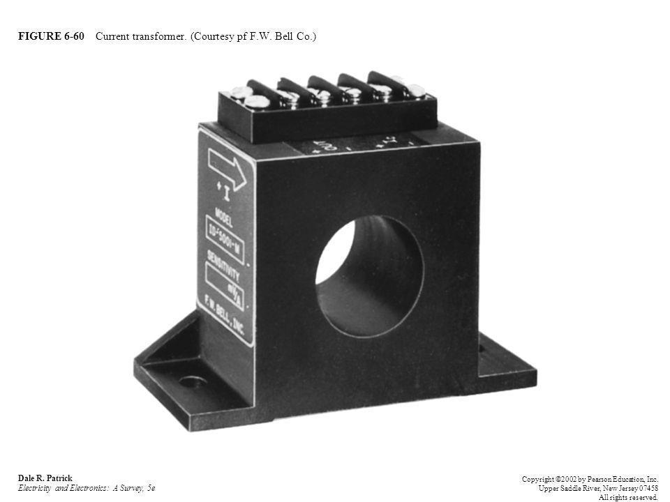 FIGURE 6-60 Current transformer. (Courtesy pf F.W. Bell Co.)