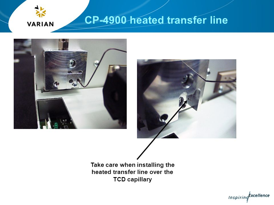 CP-4900 heated transfer line