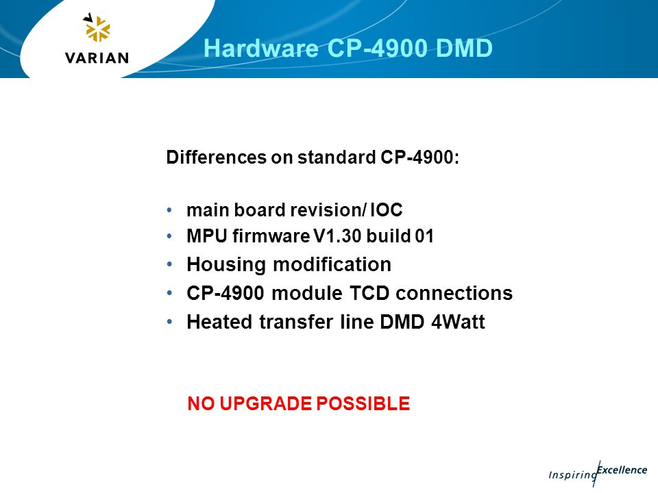 Hardware CP-4900 DMD Housing modification