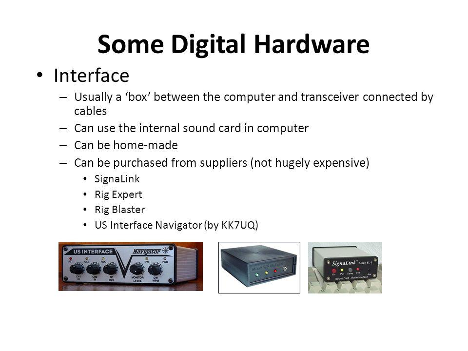 Some Digital Hardware Interface