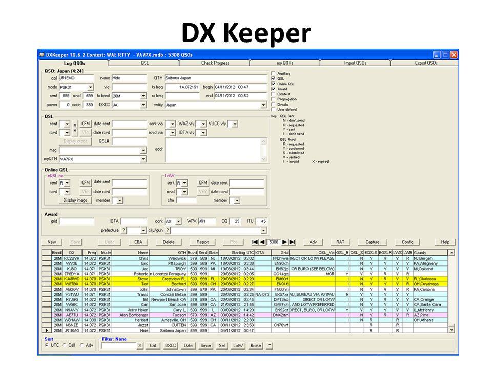 DX Keeper