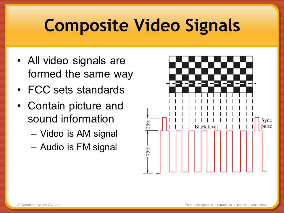 Composite Video Signals