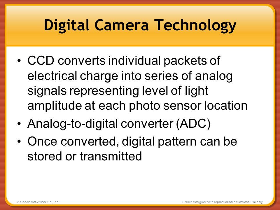 Digital Camera Technology