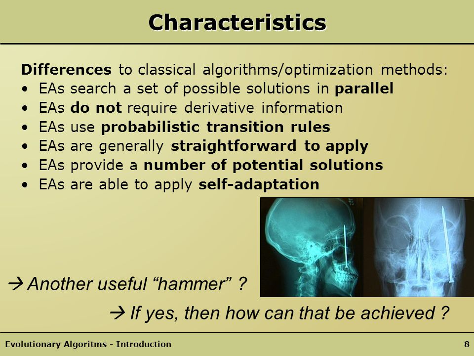 Characteristics  Another useful hammer
