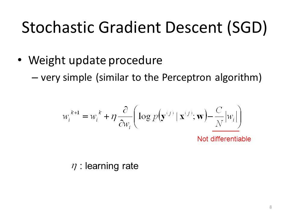 Stochastic Gradient Descent (SGD)
