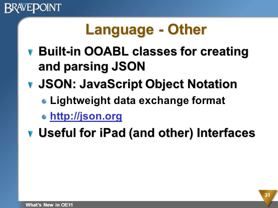 Language - Other Built-in OOABL classes for creating and parsing JSON