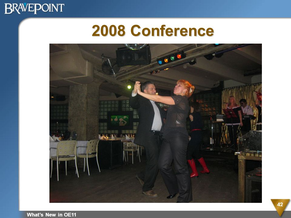 2008 Conference What's New in OE11