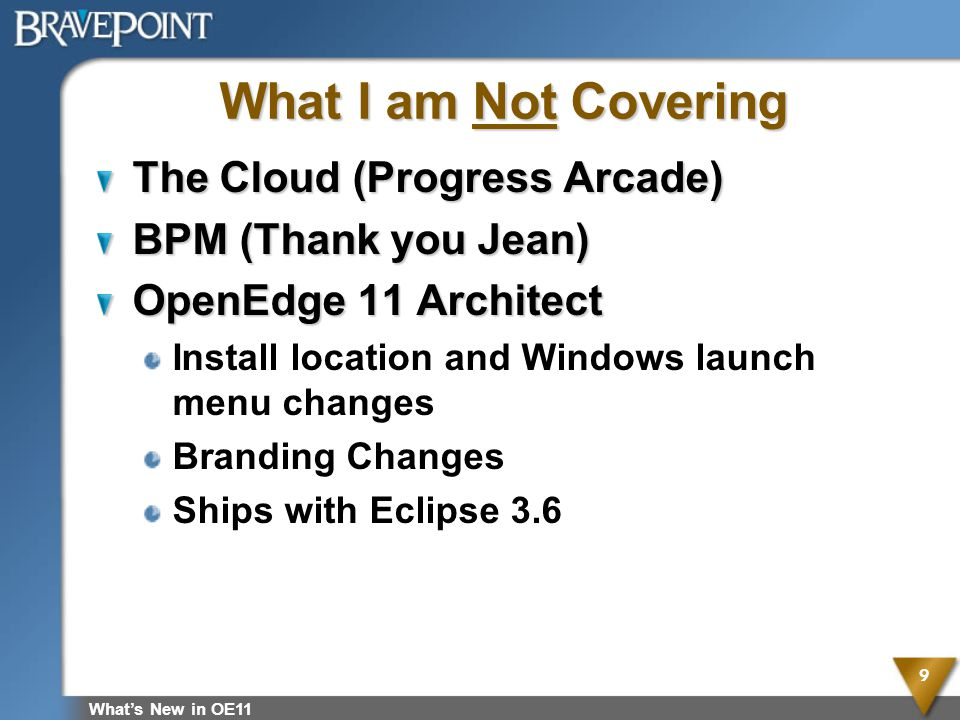 What I am Not Covering The Cloud (Progress Arcade)