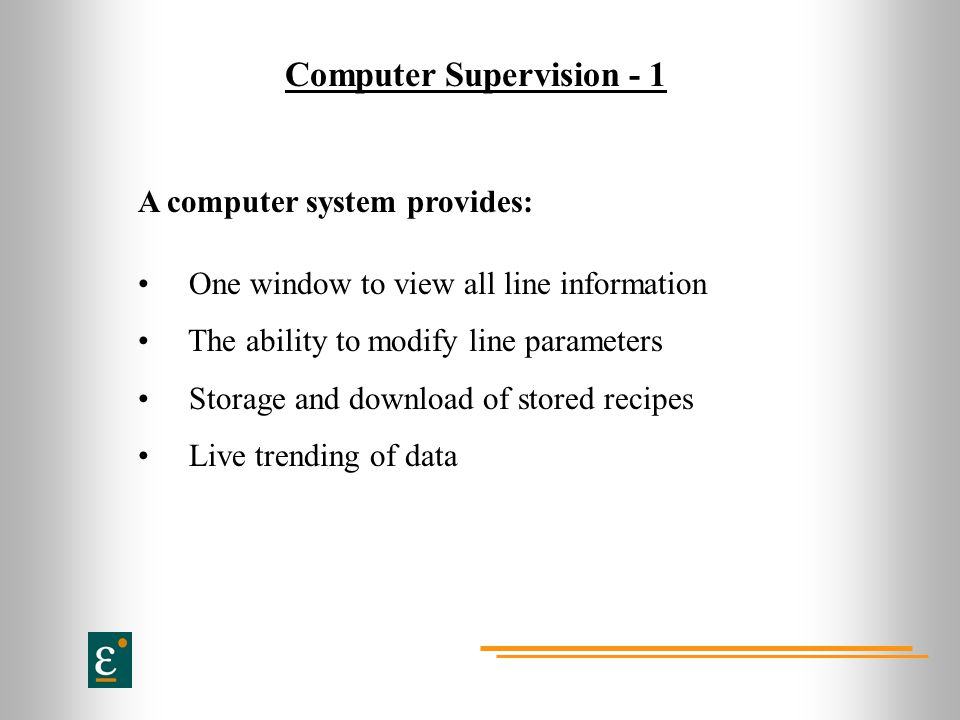 Computer Supervision - 1