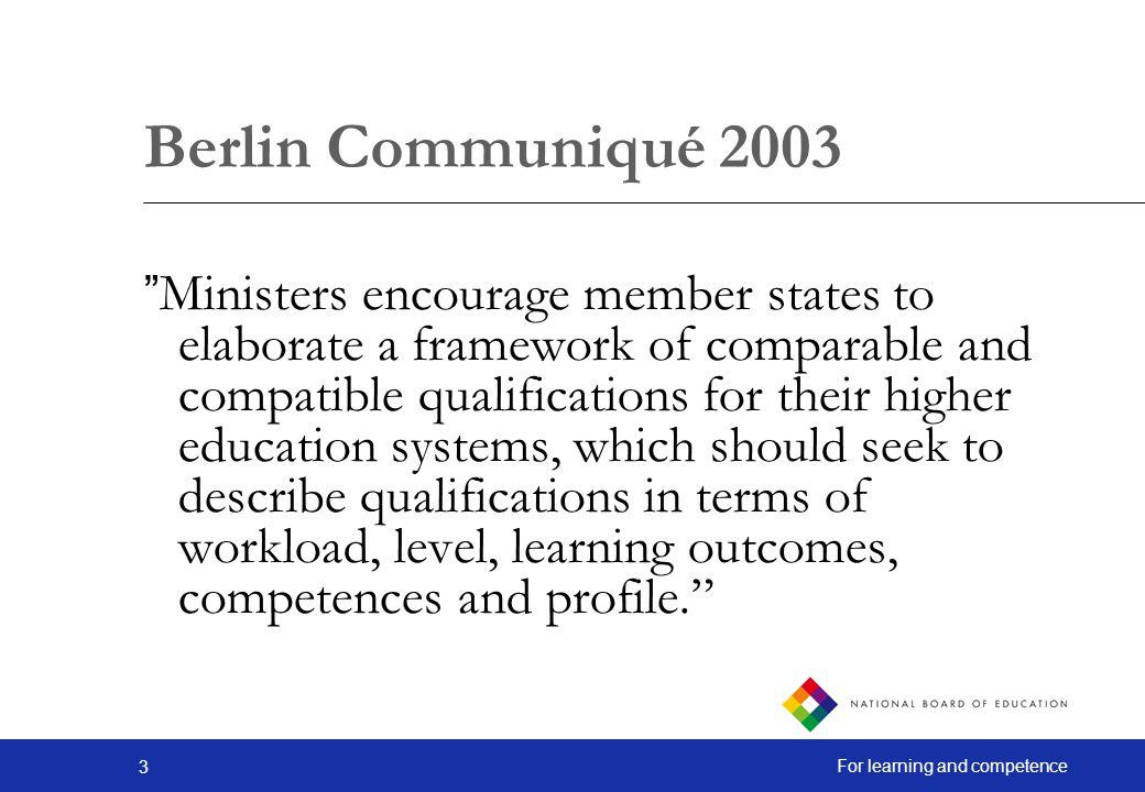 Berlin Communiqué 2003