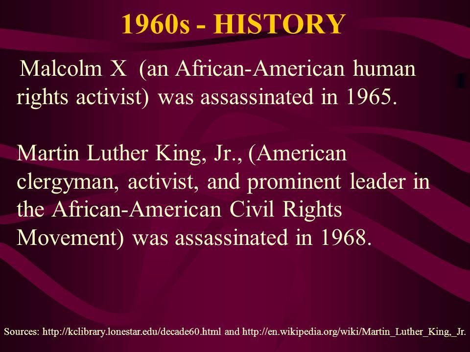 1960s - HISTORY