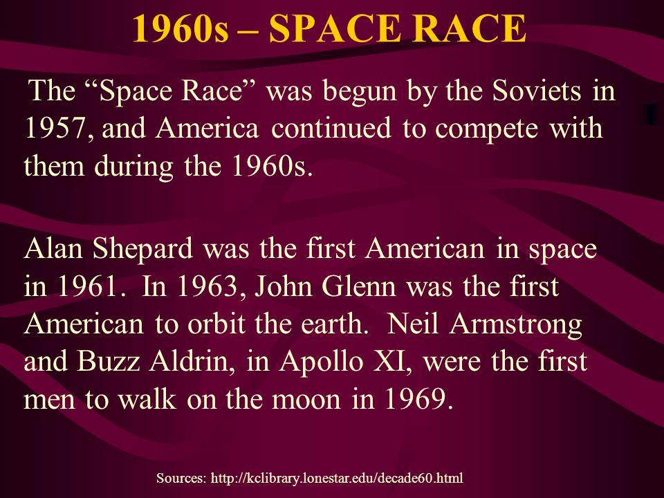 1960s – SPACE RACE
