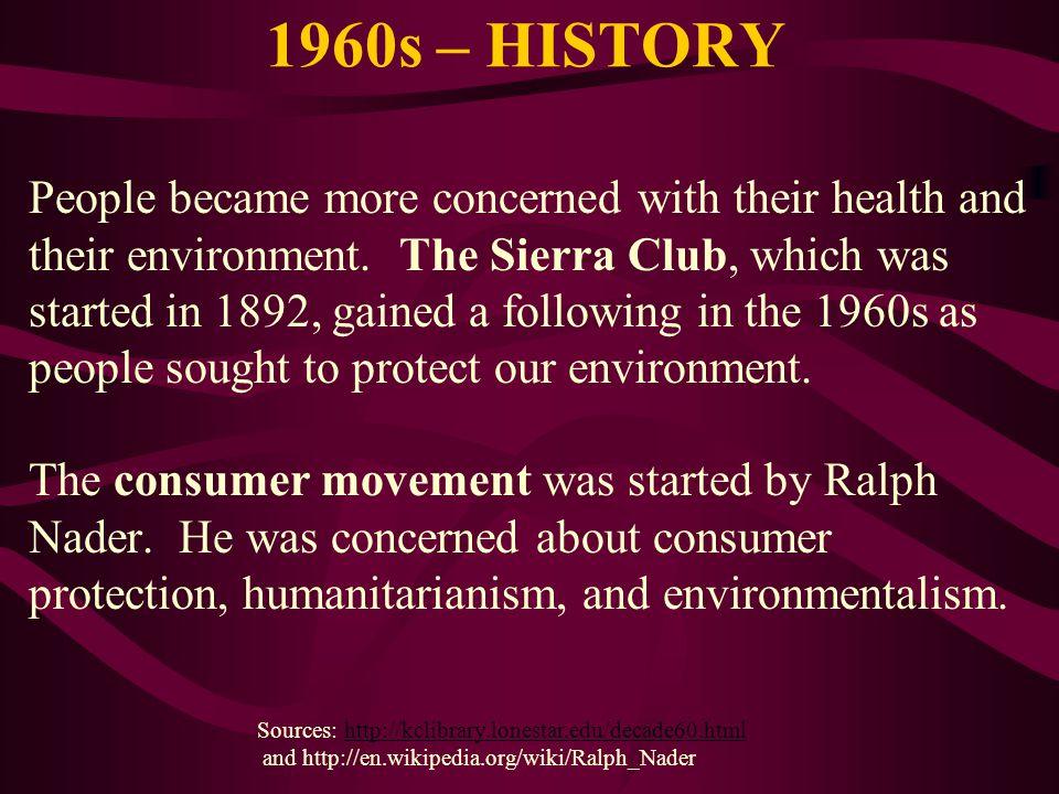 1960s – HISTORY