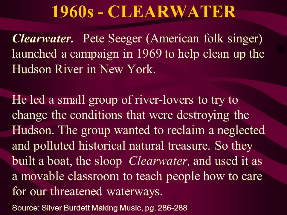 1960s - CLEARWATER