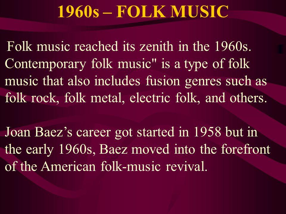 1960s – FOLK MUSIC