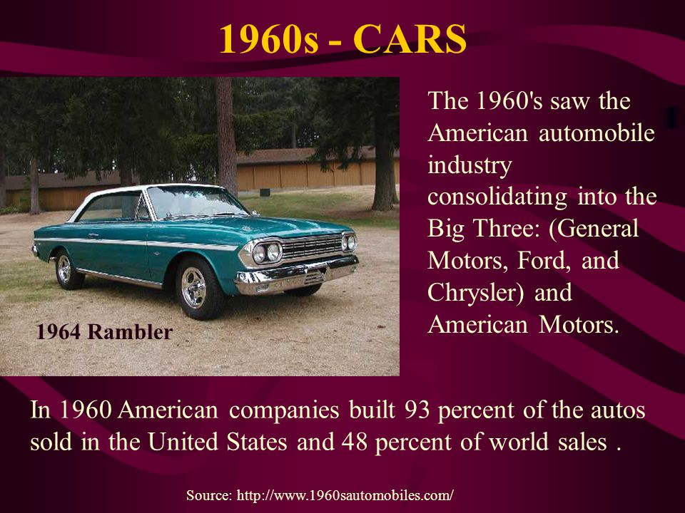 1960s - CARS