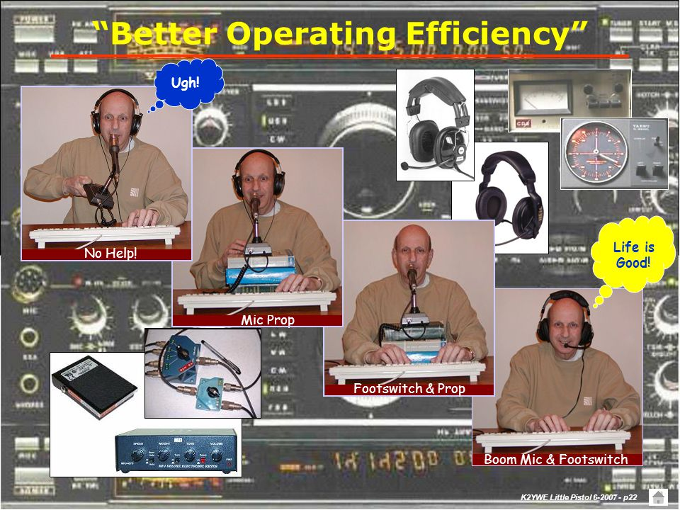 Better Operating Efficiency