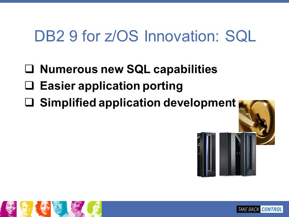 DB2 9 for z/OS Innovation: SQL