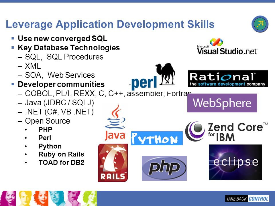 Leverage Application Development Skills