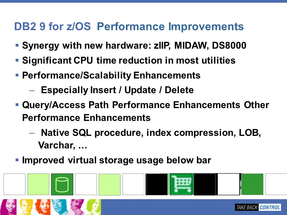 DB2 9 for z/OS Performance Improvements