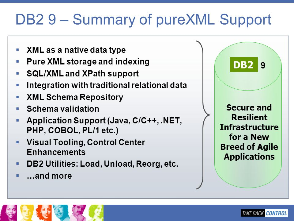 DB2 9 – Summary of pureXML Support