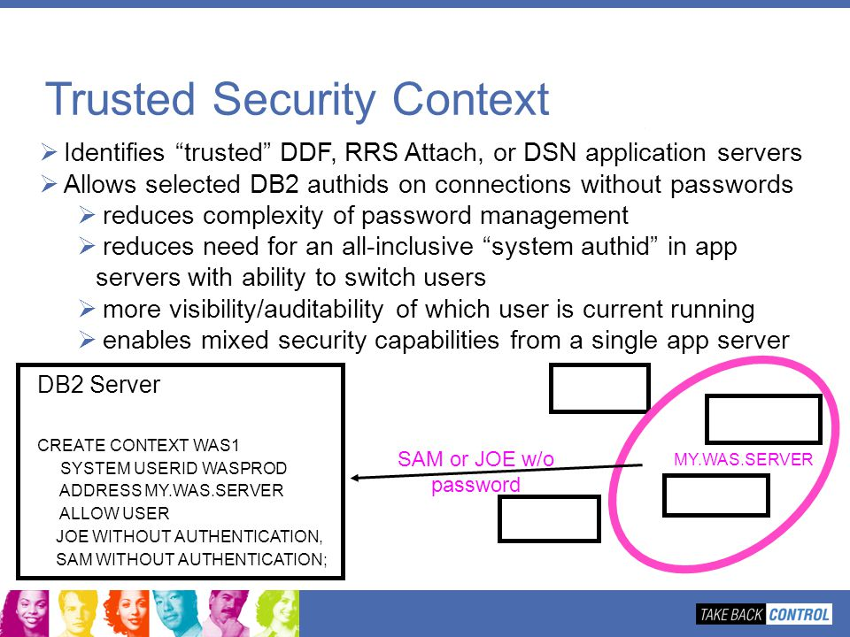 Trusted Security Context