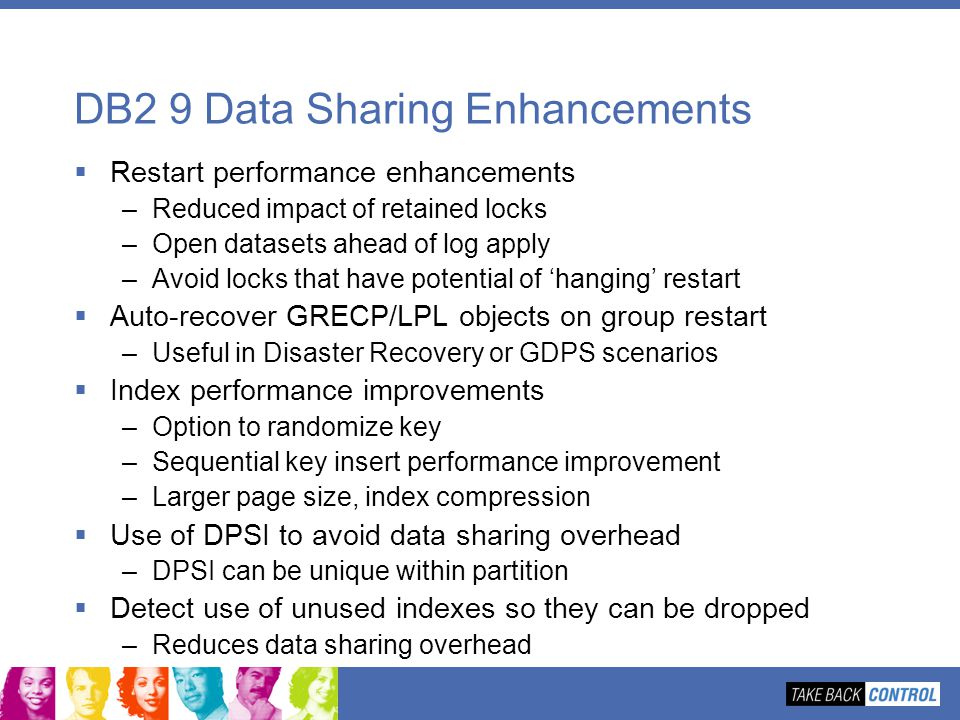 DB2 9 Data Sharing Enhancements