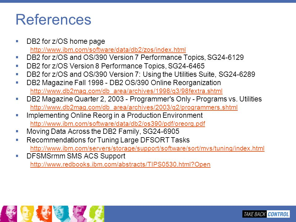 References DB2 for z/OS home page