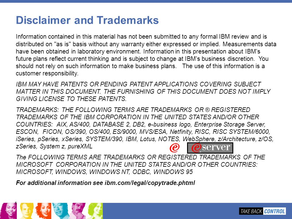 Disclaimer and Trademarks