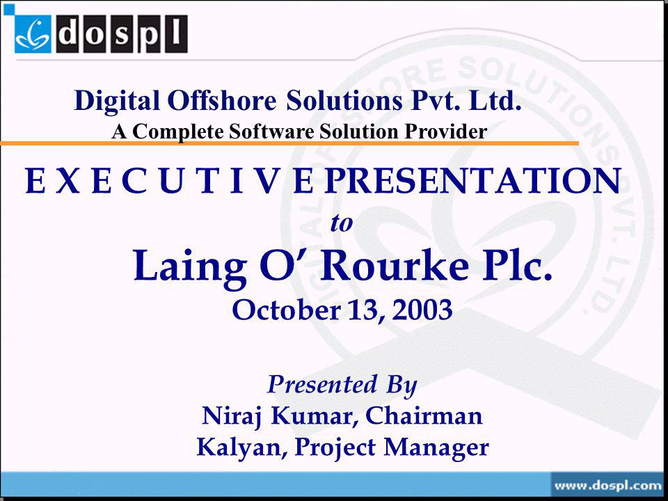 Kalyan, Project Manager
