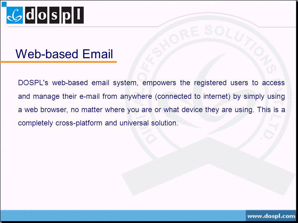 Web-based Email