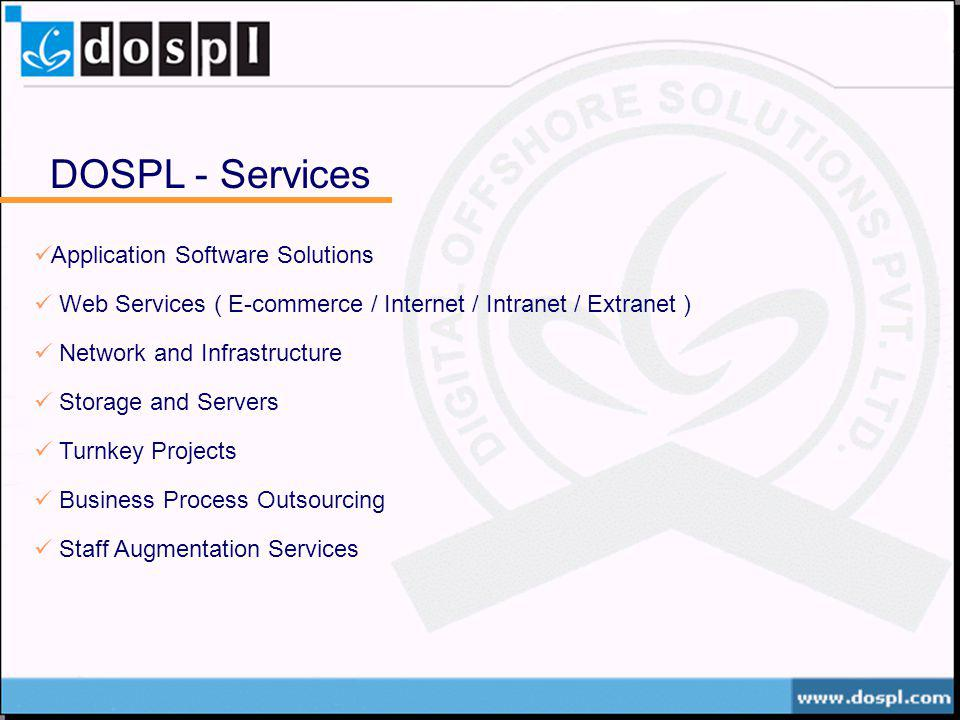 DOSPL - Services Application Software Solutions