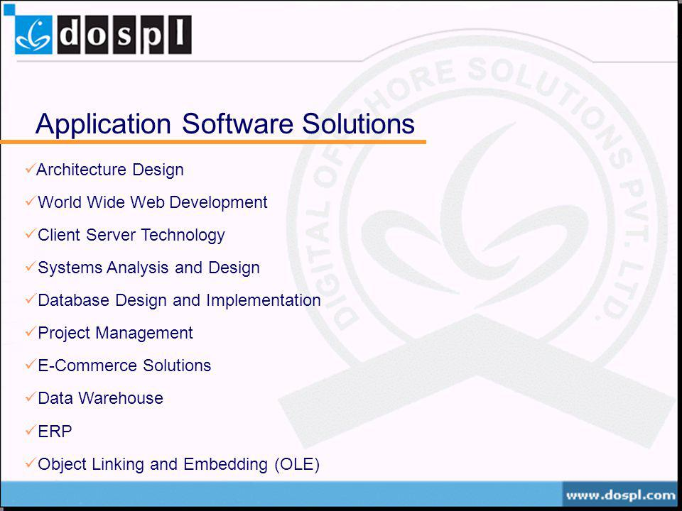 Application Software Solutions