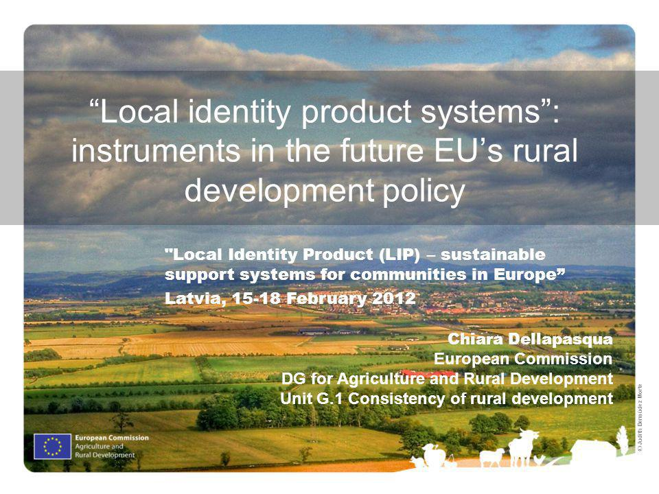Local identity product systems : instruments in the future EU's rural development policy